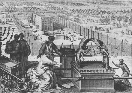 Ark of the Covenant at the Building of the Tabernacle Print/Poster (4893)